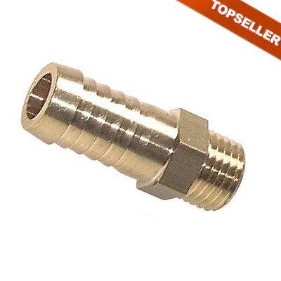 Threaded Male with Metric Thread, PN 16, Grommet, Tube, Air, Pneumatic