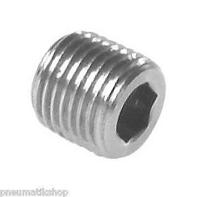 LOCKING PLUGS WITH HEXAGON SOCKET without Collar, Stainless Steel PN 40
