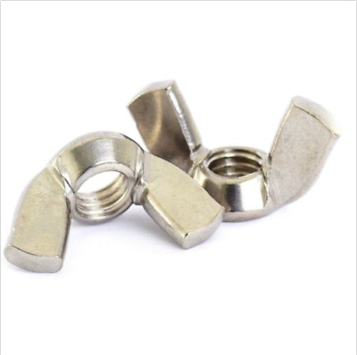 5 PACK M10 Stainless  Wing Nuts 10mm