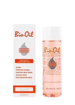 Bio Oil for Scars Stretch Marks Uneven Skin Tone Ageing/Dehydrated Skin 125ml