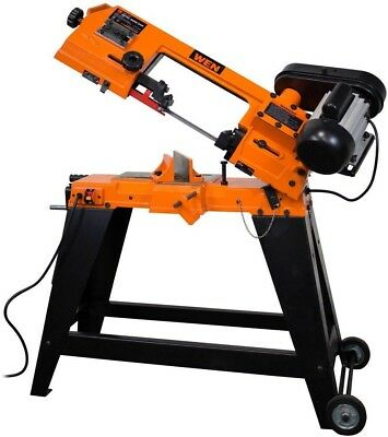 Metal Cutting Band Saw WEN Wheeled Stand Vertical Horizontal Bandsaw Power Tool