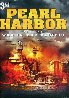 New: PEARL HARBOR & THE WAR IN THE PACIFIC- 3 DVD Set (WWII, World War II)