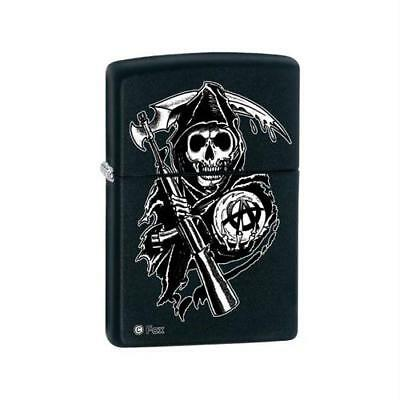 Zippo Sons of Anarchy Black Matte Lighter