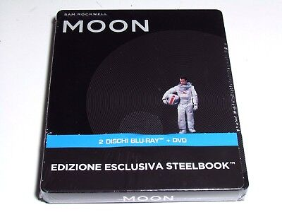 Moon Blu-Ray Steelbook Limited Edition Brand New Sealed