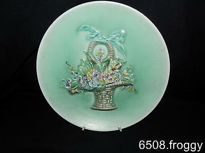 """VIntage CLARICE CLIFF  'MY GARDEN"""" Wall Charger / Plate  - Excellent !"""