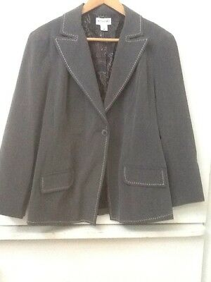 MOTHERHOOD MATERNITY Gray SZ XL BLAZER/JACKET LINED