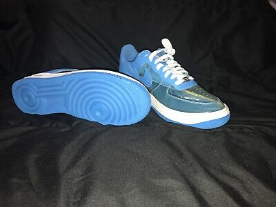 huge selection of 55091 67ebc NIKE AIR FORCE 1 Premium Clear Blue Fantastic 4 Invisible 313641-941 Men 9.5