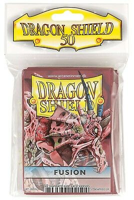 Dragon Shield - Fusion 50 Protective Sleeves - Standard Cases E.G. for Magic