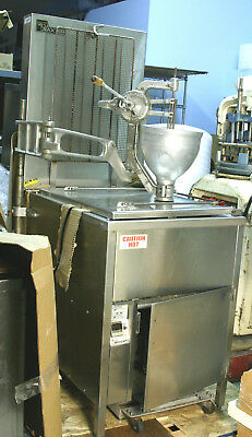 BAXTER SP155G M1826 Natural Gas Donut Fryer w/ BELSHAW Type B  Dropper