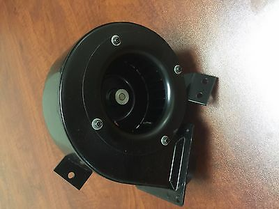 Centrifugal DC Blower Fan, 24V ZHF247 3200 RPM brand new overstocked with mount
