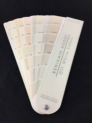Benjamin Moore Off White Colors Paint Fan Deck Color Preview
