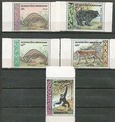 LAOS Scott # 192/193 C59/61 ** MNH Set Fauna