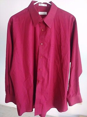 Mens Shirts PIERRE CARDIN Long Sleeve Size L
