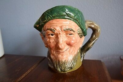 Royal Doulton Auld Mac Large Toby Jug Pitcher England D5823 England Made