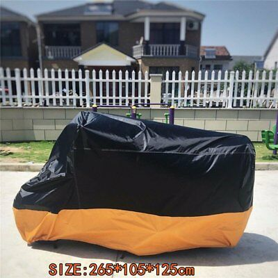 USA Motorcycle Cover Motor bike Scooter Waterproof Sun UV Dust Protector Rain EK