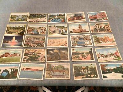 Lot of  60+ Year Old Postcards (Lot 38) More Rochester, New York (25 cards)