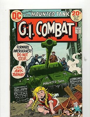 G.I. Combat #165 F- 5.5 Cream to Off White Pages