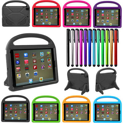3D Kids Cute Shockproof EVA Foam Stand Cover Case For iPad 2 3 4 Mini /Air /Pro