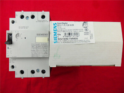 1Pcs New Siemens Molded Case Circuit Breaker 3VU1640-1MM00 10-16A