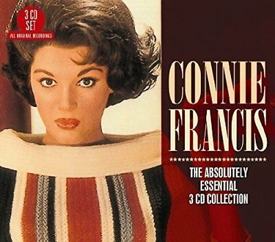 The Absolutely Essential 3 CD Collection, Connie Francis, Very Good Box set