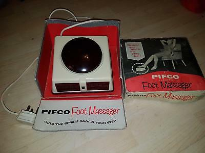 Vintage PIFCO Electric Foot Massager Retro Collectable Vibrating Aching Feet