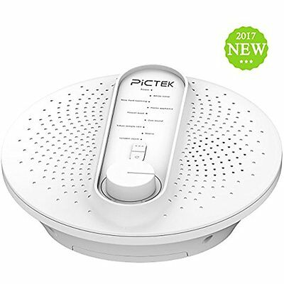 Pictek White Noise Machine 24 Soothing Sleep Therapy Sound W/ Playing All Or NEW