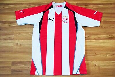3f7f3442d Olympiacos Fc Greece 2005 2006 Puma Home Football Soccer Shirt Jersey Medium