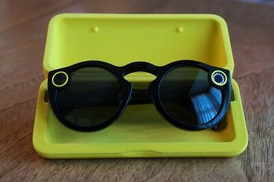 Snapchat Spectacles - Schwarz / Black -Brille Glasses *NEU & OVP / NEW & SEALED*