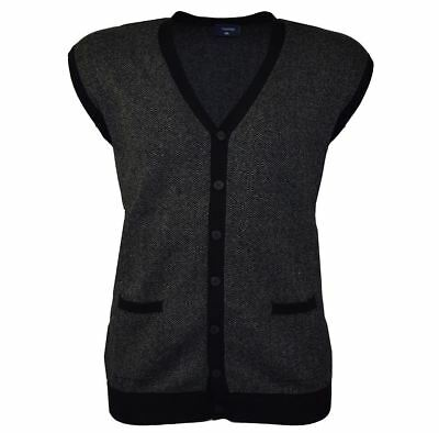 4c5a3d09c1 GILET IN PURO cotone uomo con bottoni royal Regular fit - EUR 16,90 ...