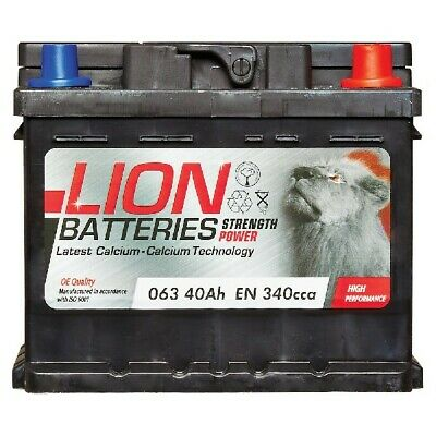 MF53646 063 Car Battery 3 Years Warranty 40Ah 340cca 12V Electrical By Lion