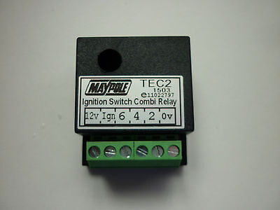 12V DC TEC2 Multi-Purpose Split Charge Relay / Dual Battery / Caravan / Electric