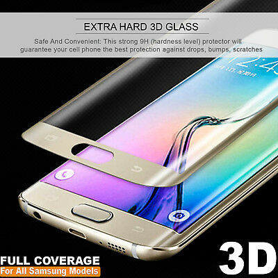 3D Tempered Glass Screen Protectors For Samsung Galaxy S7 S7 Edge S6 S8 S8+