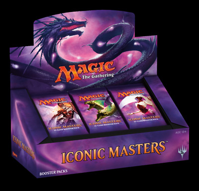 Iconic Masters Booster Display - EN English factory sealed Vorverkauf