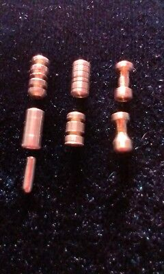 Security Pins. practice/anti bump, hand made tumbler lock pins lot#8