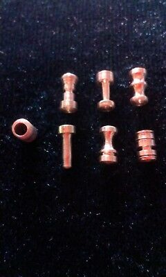 Security Pins. practice/anti bump, hand made tumbler lock pins lot#16
