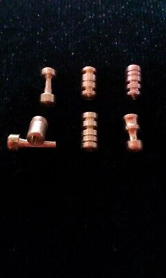 Security Pins. practice/anti bump, hand made tumbler lock pins lot#17