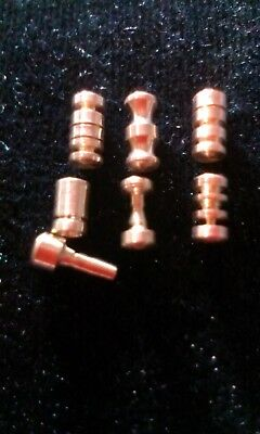 Security Pins. practice/anti bump, hand made tumbler lock pins lot#19