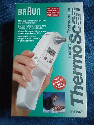 Braun - Instant Thermometer ThermoScan - Ohrenthermometer