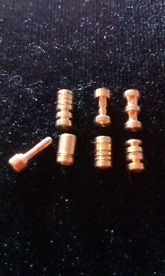 Security Pins. practice/anti bump, hand made tumbler lock pins lot#28