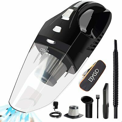 Cordless Hand Vacuum Cleaner Cyclonic Portable Car Pet Hair Cleaner Quick Charge