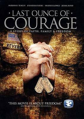 Last Ounce of Courage: A Story of Faith, Family & Freedom DVD NEW
