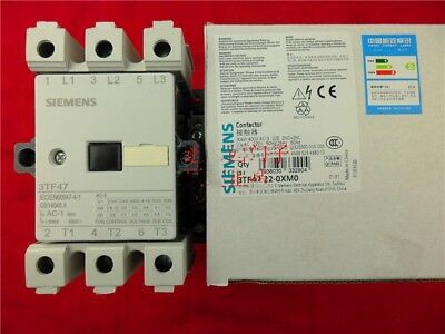 1PC  New Siemens Contactor 3TF4722-0XM0 AC220V