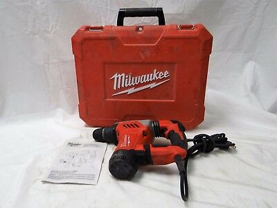 "Milwaukee Corded Sds-Plus 1-1/8"" Rotary Hammer Drill 5268-21"