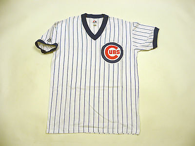 * Vintage Jersey MLB Baseball Chicago Cubs Shirt Majestic