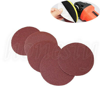 4X 125mm 5 inch Round Sanding Sheet Mix Grit Sander Disc Pad Polisher Sandpaper