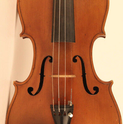 alte feine geige labeled C. Candi 1934 violon old violin cello viola 小提琴 ヴァイオリン