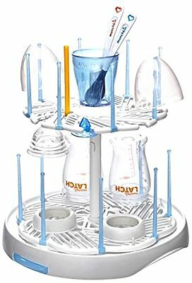 Munchkin Latch Spinning Drying Rack ~ Dries and Drains Baby Bottles - 253