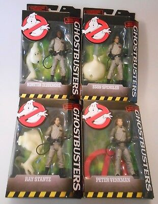 "Ghostbusters Classic 6"" Figures Lot of 4, 2016 MATTEL New Sealed Full Set"