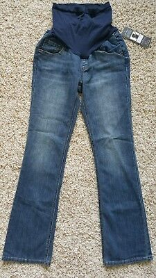 NWT Oh Baby Motherhood Maternity Bootcut Denim Jeans size small 4-6