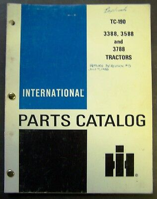 INTERNATIONAL Harvester 3388 3588 3788 Tractor Chassis Shop